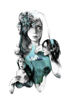 Collage - Paula Bonet on Behance