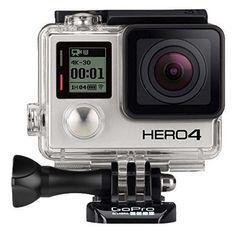 GoPro Hero 4 Black Edition 4K Action Helmet Go Pro Waterproof Camera BUY NOW #ad