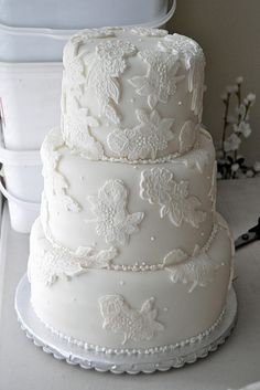 Heather'sCake-Full by Silver Spoon Cakes, via Flickr