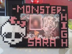Carte personnalisé Monster High hama