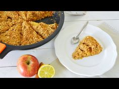 Crumble de Manzana SALUDABLE | Fácil (VEG) - YouTube Healthy Cake, Healthy Desserts, 20 Min, Jamie Oliver, Vegan Breakfast, Cornbread, Macaroni And Cheese, Oatmeal, Brunch