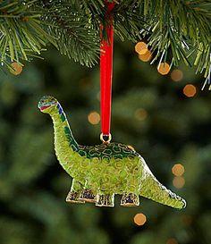 Dillards Trimmings Cloisonne Dinosaur Ornament #Dillards