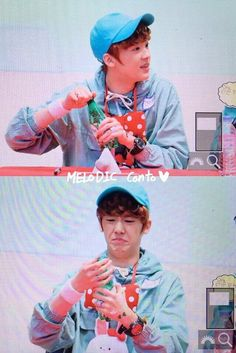 [06.03.16] Mokdong Fansign Event - Sanha omg you adorable child