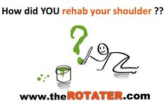 How did you rehab your #shoulder?