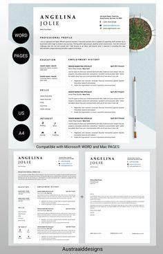 Cover Letter Format, Cover Letter For Resume, Cover Letter Template, Letter Templates, Cv Resume Template, Modern Resume Template, Application Letters, Professional Resume, Lettering