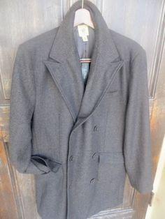 Trevero Mens Wool Brown Black Tweed Jacket Mckinnon Coat Blazer NEW $225 Large L