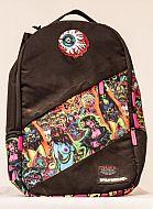 Sprayground Mishka Backpack: $75.50 BY: HANDBAGS  Sprayground backpack with graffiti-like design: Black with multi-colored art.  Golden Bones Boutique & Salon  https://store.goldenbonesatx.com/sprayground-mishka-backpack/dp/3127