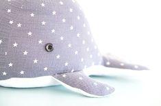 Großer Wal zum Kuscheln