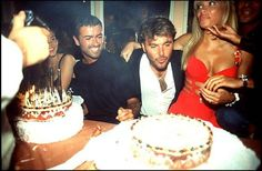George Michael at thr birthday party of Tony 1994 Saint Tropez