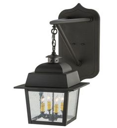 """15""""W Stockwell Hanging Lantern Outdoor Wall Sconce"""