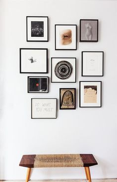 Framed Collection Gallery Walls Wall Layout Frames Art Scale