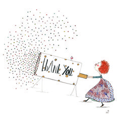 """""""Thank you!"""" Is a magical word! Playing Cards, Presents, Words, Gifts, Favors, Playing Card Games, Cards, Gift, Game Cards"""