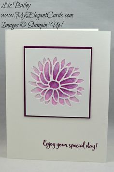 My Elegant Cards - Page 9 of 161 - Liz Bailey - Independent Stampin' Up! Beautiful Handmade Cards, Stamping Up Cards, Get Well Cards, Handmade Birthday Cards, Scrapbook Cards, Scrapbooking, Paper Cards, Creative Cards, Flower Cards