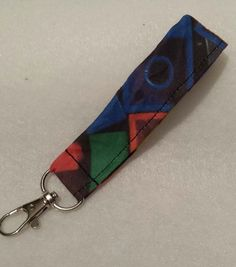 Key fob made with LEGO®  fabric £3.00