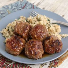 Honey Chipotle Turkey Meatballs Recipe Main Dishes with ground turkey, yellow onion, garlic cloves, salt, black pepper, honey, chipotles in adobo, cider vinegar, extra-virgin olive oil