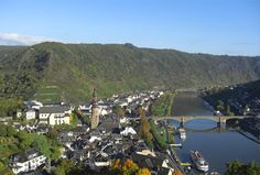 Cochem, Germany and the Mosel River