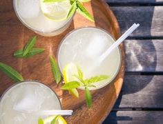 This grown-up lemonade with lemon verbena will be a new favorite