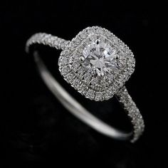Double Halo Engagement Ring Zales 51