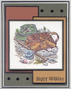 Fishermans Dream by LPuite - Cards and Paper Crafts at Splitcoaststampers