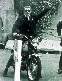McQueen #riding #motorcycles #motos | caferacerpasion.com