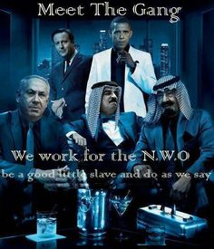 NWO: now be a good slave and do as we say or it's the FEMA DEATH CAMPS for you.