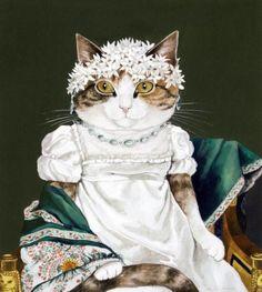 Oorspronkelijk: La contessa Daru. Geschilderd door Jacques-Louis David.