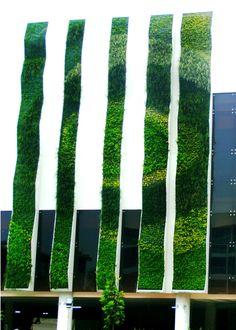 Vertical Garden The Stone Hotel (JW Marriot) Bali sangat indah dengan desain yang menawan