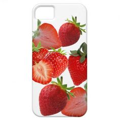 Strawberries and cream iPhone 5 case