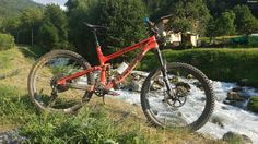 My long-term test bike, the Transition Scout Carbon frameset