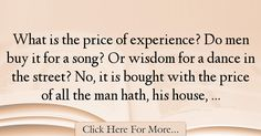 William Blake Quotes About Experience - 17518