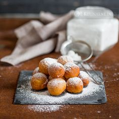Mini pączki z ricottą | Przepisy kulinarne ze zdjęciami