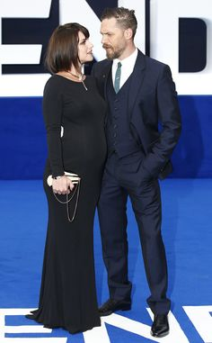 Tom Hardy Expecting Second Child, Wife Charlotte Riley Is Pregnant: See Her Baby Bump! Tom Hardy, Charlotte Riley
