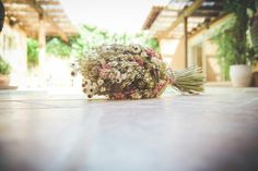 Dried flowers, wedding flowers