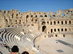 Breathtaking Roman Amphitheater In El Jem Tunisia Photo Vide with The Roman Amphitheatre Of El Jem | Goventures.org