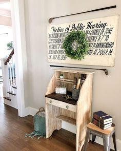 Farmhouse Style, Shabby, Desk, My Love, Furniture, Instagram, Products, Home Decor, Writing Table