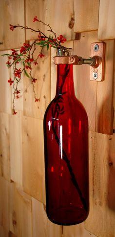 Simply Elegant Red wine bottle stem holder by PineknobsAndCrickets, $16.00