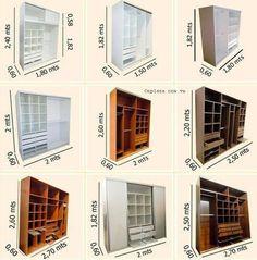 Standard Wardrobe Closet Design Guidelines - Engineering Discoveries Wardrobe Design Bedroom, Wardrobe Closet, Built In Wardrobe, Master Closet, Closet Bedroom, Armoire Wardrobe, Wardrobe Dimensions, Dressing Design, Plafond Design