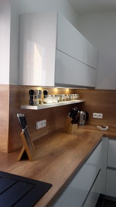 Kitchen Room Design, Best Kitchen Designs, Kitchen Sets, Modern Kitchen Design, Interior Design Kitchen, Home Decor Kitchen, Home Kitchens, Diy Home Decor, Modern Kitchen Interiors