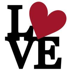 Silhouette Design Store: Lots Of Love Heart Collage Silhouette Design, Teacher Signs, Love Signs, Love Wallpaper, Good Morning Quotes, Love Art, Cricut, Clip Art, Valentines