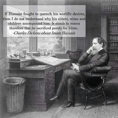 Why did Charles Dickens have a personal postbox? Dickens in his study at Gad's Hill Place Who Is Hussain, Imam Hussain, Muharram Wallpaper, Simon Callow, Sumo, Hazrat Ali, Best Novels, Tomorrow Will Be Better, Prophet Muhammad