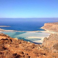 Long hike is definitely worth this view don't you think.. 🌊 #balos #crete…