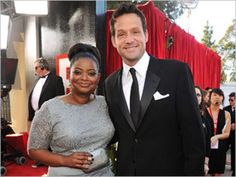 "Octavia Spencer (Oscar/Golden Globe winner for ""The Help"") and Josh Hopkins (Cougar Town)...good buddies and, yes, Auburn University alums."