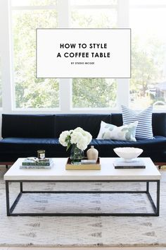 Studio McGee | How to Style a Coffee Table