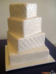 square wedding cake | square white wedding cake white square wedding cake