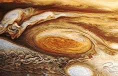 A detail of Jupiter Great Red Spot.