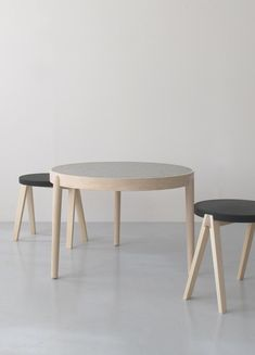 Modern Times Malmon table and Trestle stools
