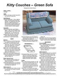 Album Archive Crochet Quilt, Crochet Cross, Crochet Home, Crochet Stitches, Free Crochet, Knit Crochet, Crochet Cat Toys, Crochet Animals, Crochet Furniture