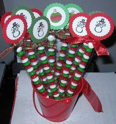 Christmas Candy Tubes