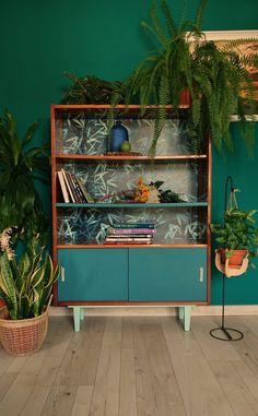 Retro Furniture Makeover, Diy Furniture Renovation, Diy Furniture Projects, Refurbished Furniture, Repurposed Furniture, Vintage Furniture, Furniture Decor, Furniture Design, Diy Home Decor
