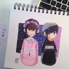 Image result for pastel dan and punk phil greywick